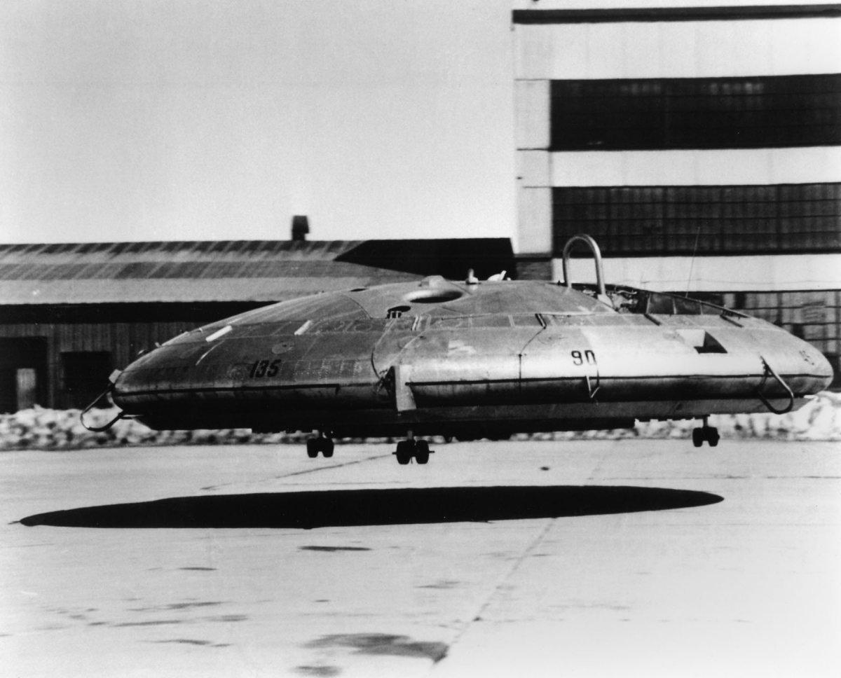 3. AvroVZ-9V Avrocar.