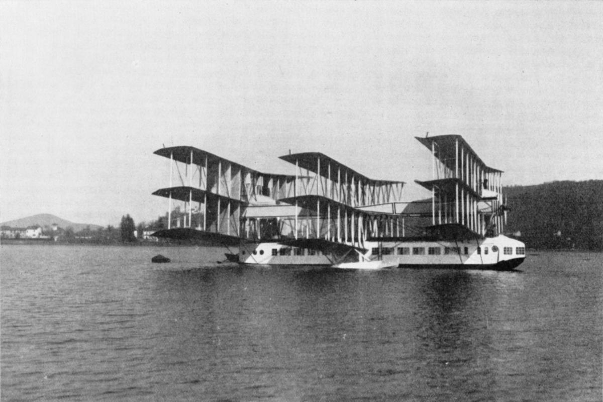 4. Caproni Ca.60 Noviplano.