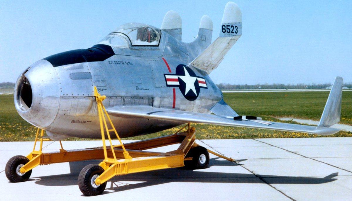 7. McDonnell XF-85 Goblin.