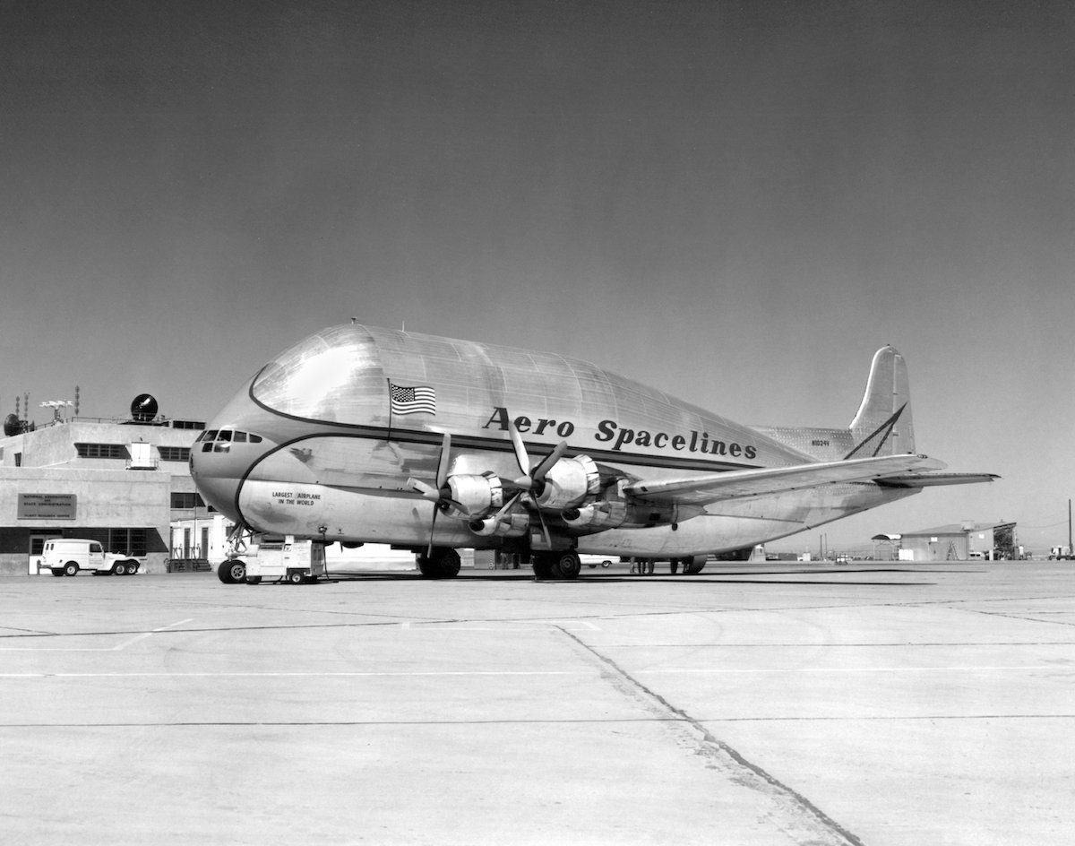 8. Aero Spacelines B377PG Pregnant Guppy.