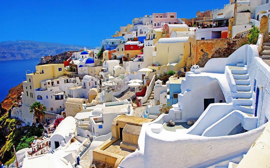 11. Ия, Греция.