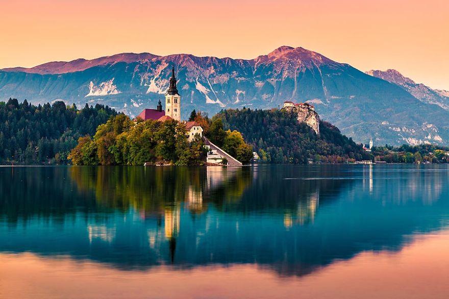 12. Блед, Словения.