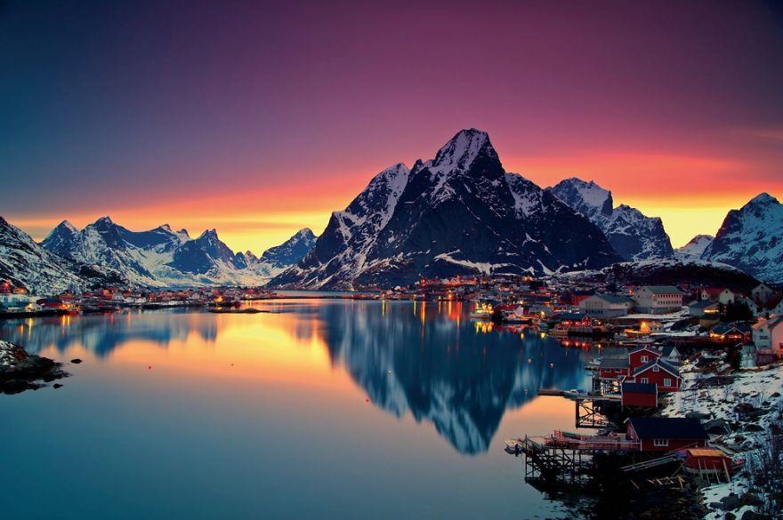 17. Рейне, Норвегия.