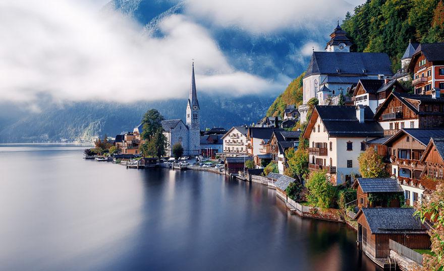 4. Халльштатт, Австрия.