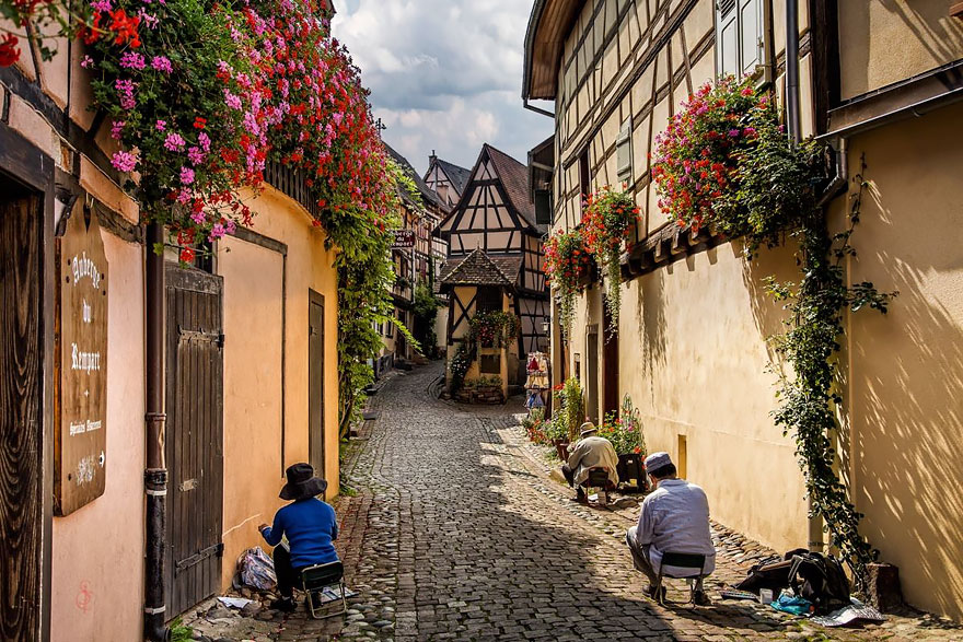 8. Эгисхайм, Франция.