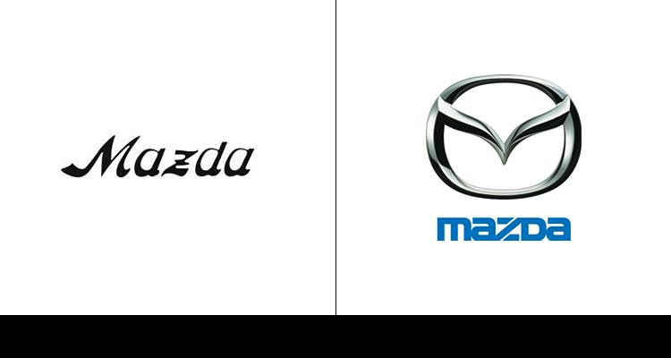 12. Логотип компании Mazda впервые дебютировал в 1934 году. После компания «поиграла» с ним и оставила букву «М».