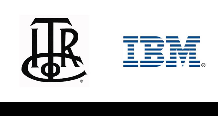 9. С момента основания, компания IBM прошла через значительные изменения бренда. Первый логотип разработали в 1889 году.