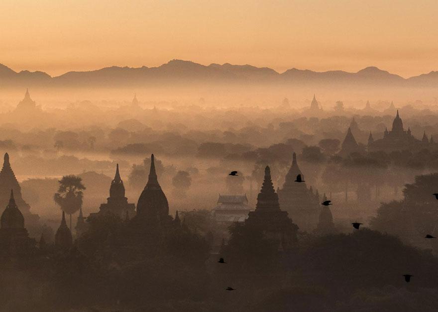 26. «Восход в Пагане», Мьянма