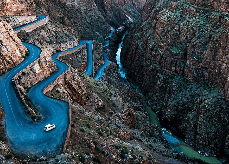 33. «Извилистые дороги», Марокко.