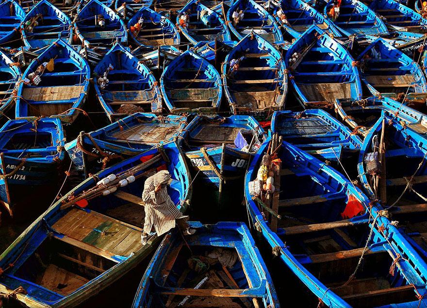35. «Где моя лодка?», Марокко.