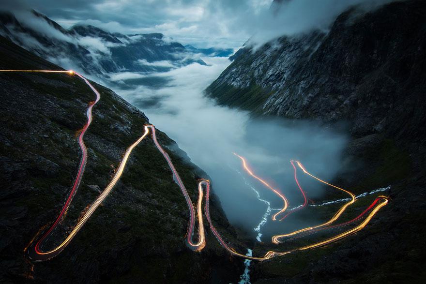 8. «Лестница троллей», Норвегия.