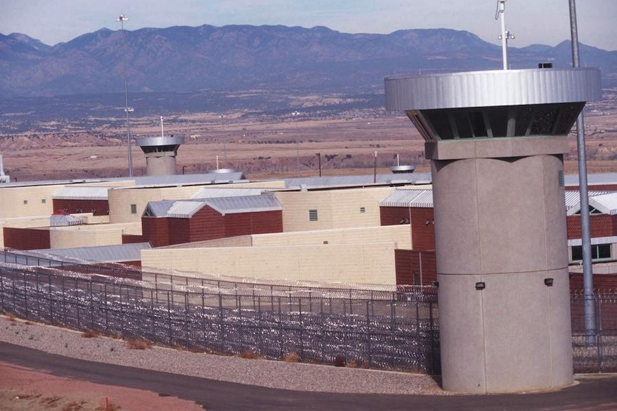 8. Тюрьма ADX Florence.