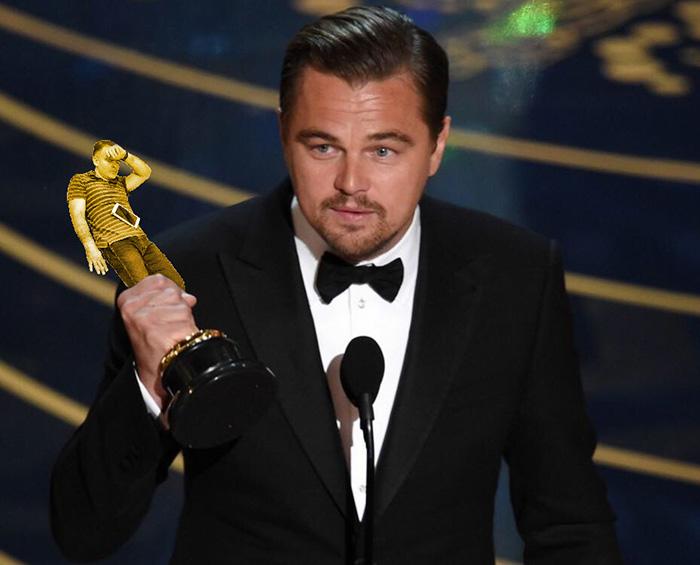 3. На премии вручения Оскара...