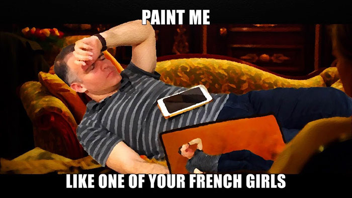 6. И даже на Титанике (Нарисуй меня, как одну из своих французских девушек).