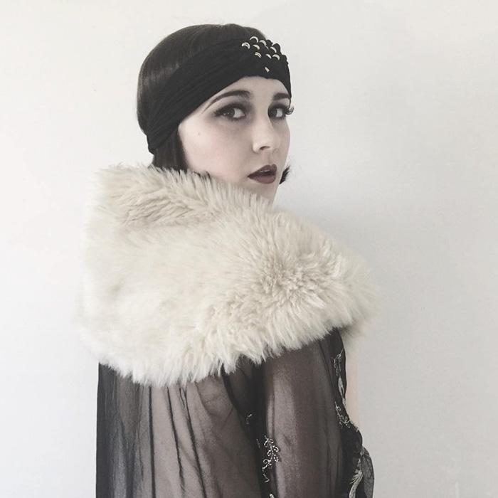 5. Девушка-флэппер из «ревущих 20-х».