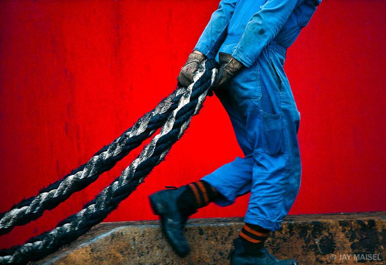 2. Red wall and rope - Джей Майзель.