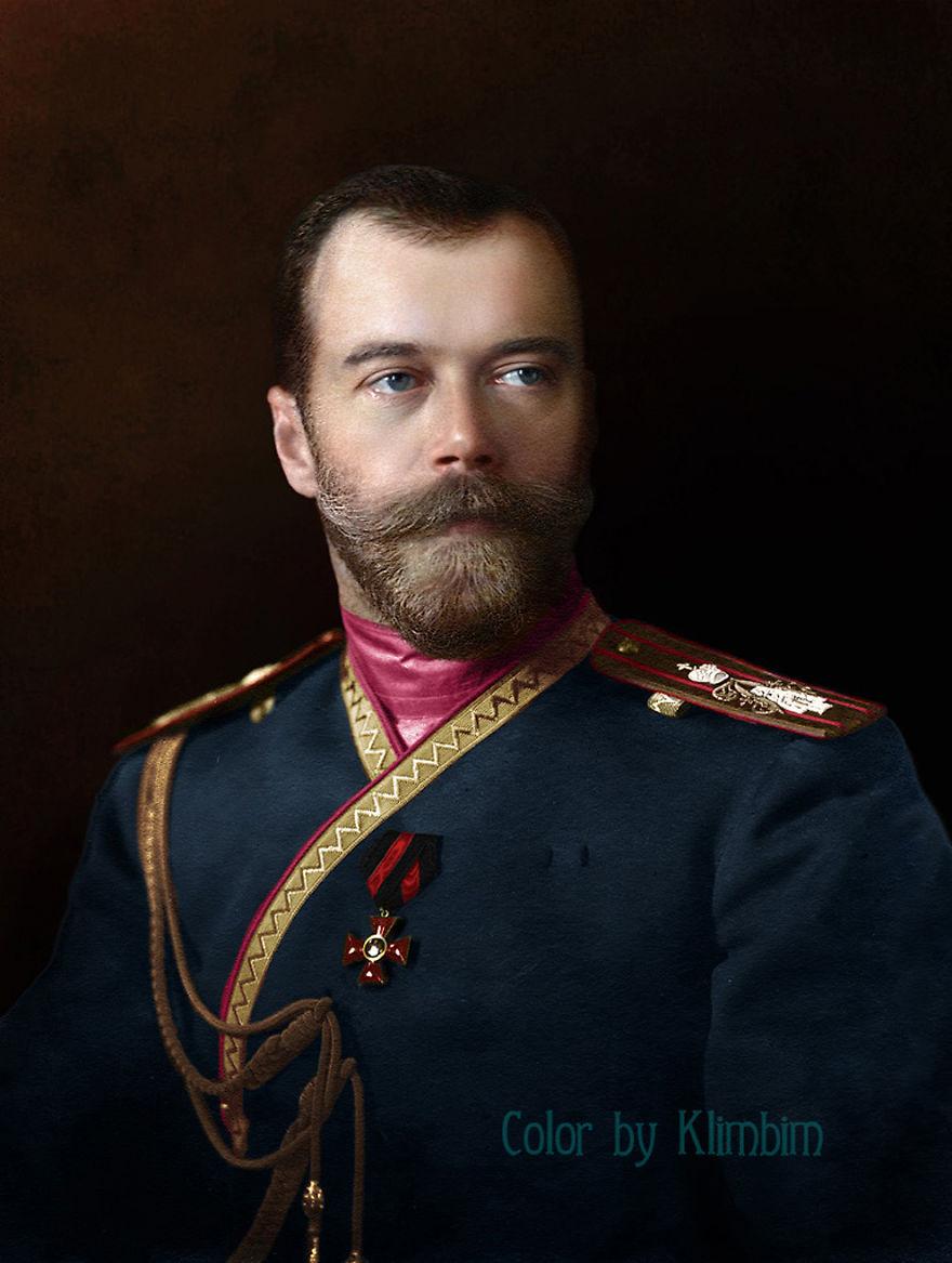 18. Царь Николай II в униформе 4-го стрелкового Императорской фамилии лейб-гвардии полка, 1912 год.