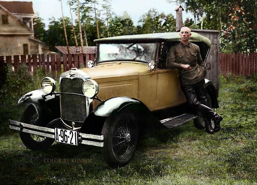 34. Форд советской сборки, 1930 год.