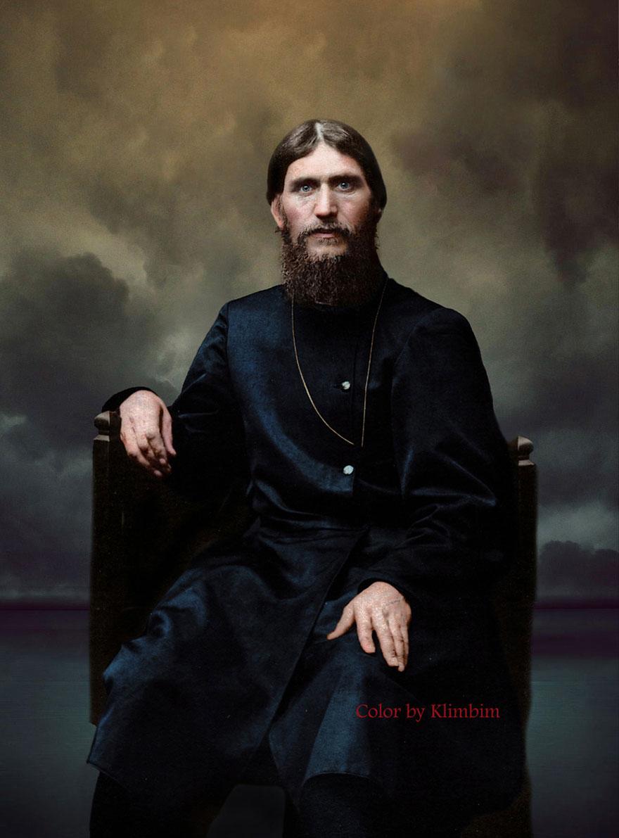 35. Григорий Распутин, 1904 год.