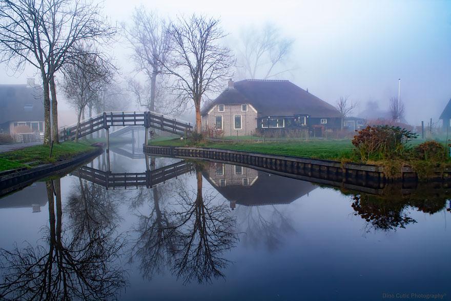 4. Так что в деревне очень тихо и спокойно.