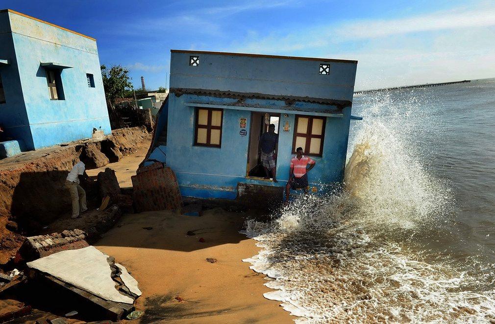 3. Еще одной награды за фото окружающей среды получил индийский фотожурналист Кумар Шантх за фото «Теряю почву под ногами».
