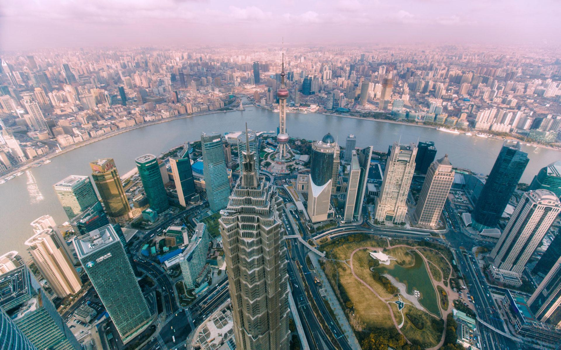 1. Башня Цзинь Мао (Шанхай, Китай) – 420 метров.
