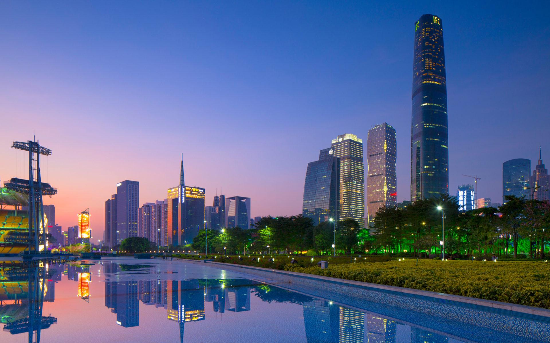 6. Международный финансовый центр (Гуанчжоу, Китай) – 439 метров.