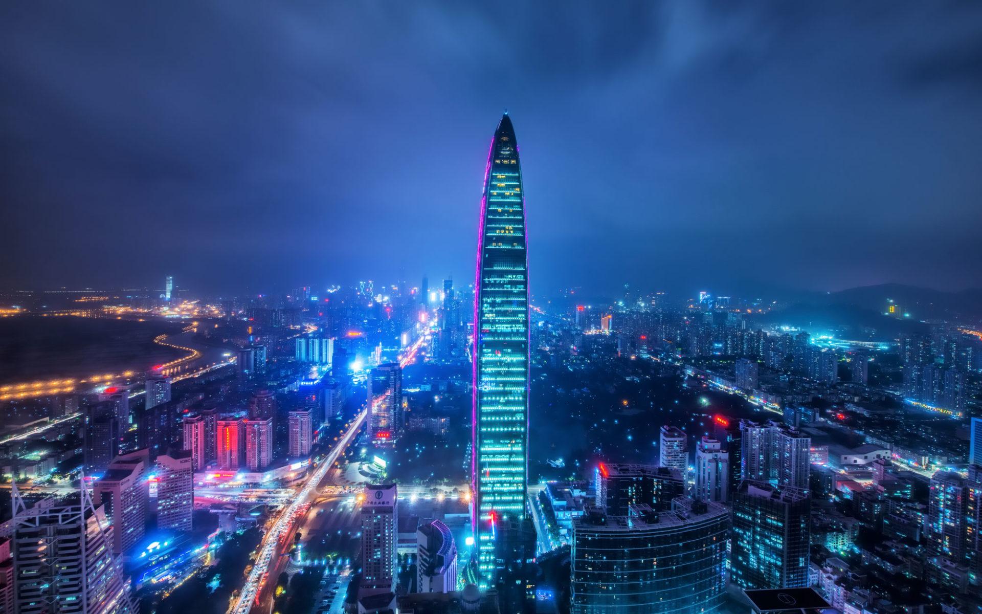 7. Kingkey 100 (Шэньчжэнь, Китай) – 442 метра.