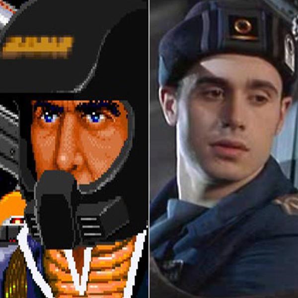 "11. Фредди Принц - лейтенант Кристофер Блэр из ""Wing Commander""."