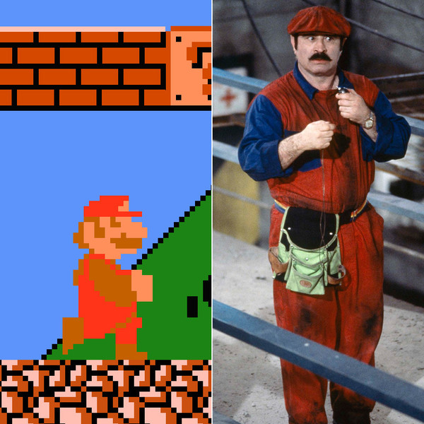 16. Марио в исполнении Боба Хоскинса.