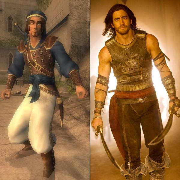 2. Джейк Джилленхол – Принц Персии.