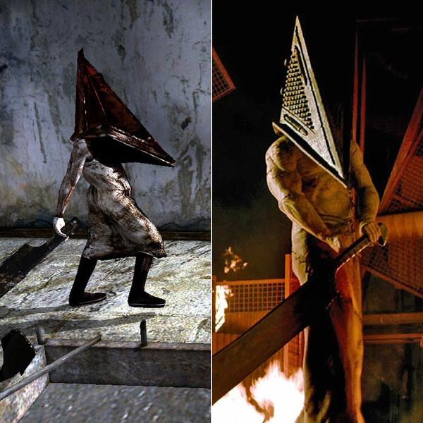 6. Роберто Кампанелла в роли Пирамидоголового из Silent Hill.