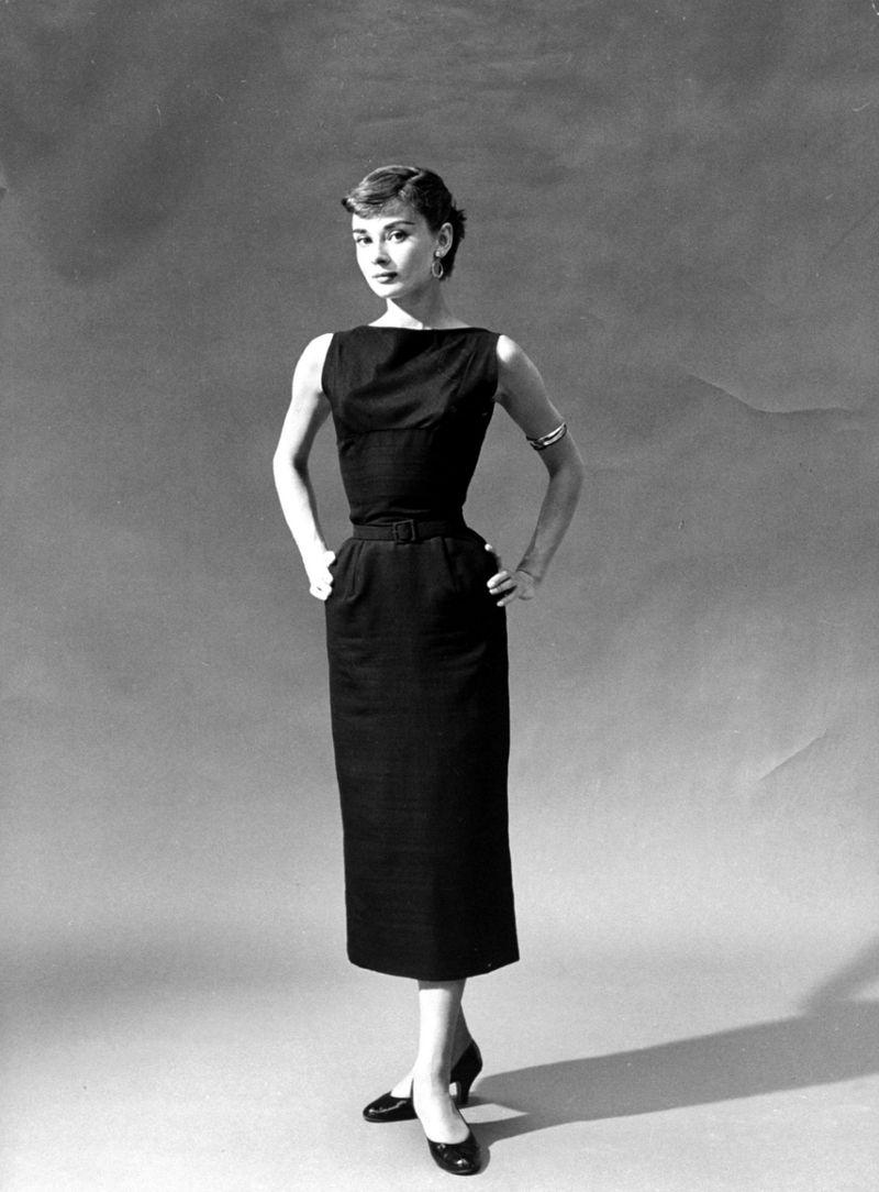 1. Маленькое черное платье.
