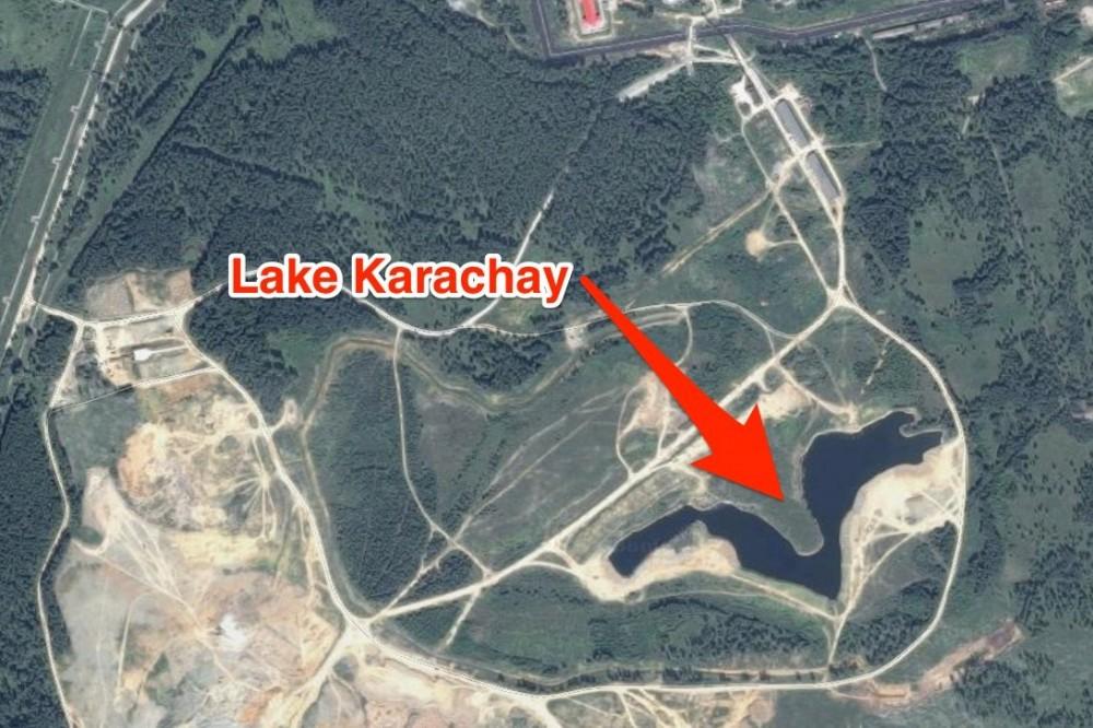 10. Озеро Карачай, Россия – хранение радиоактивных отходов.