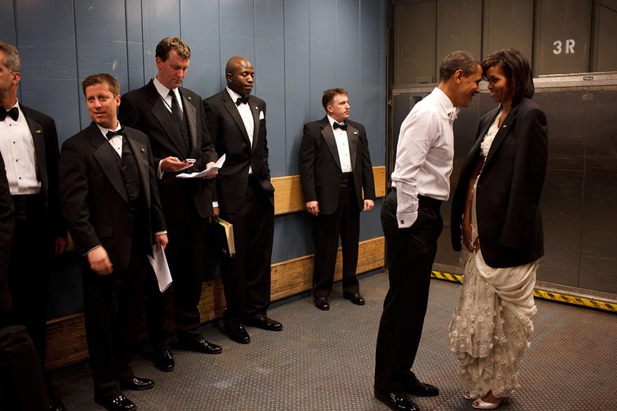 11. Барак Обама и Мишель Обама.
