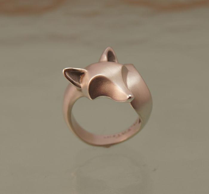 10. Еще одно кольцо с лисой.