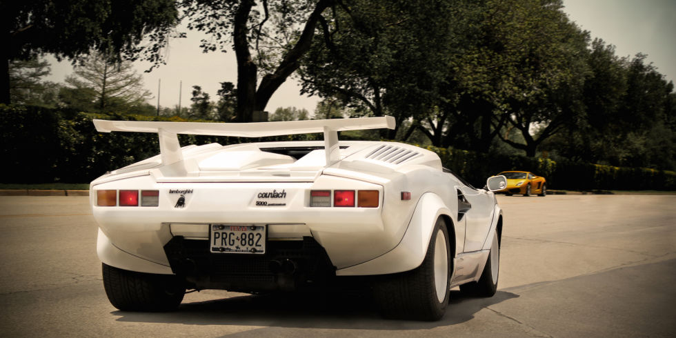1. Lamborghini Countach LP500S, 1985 года.