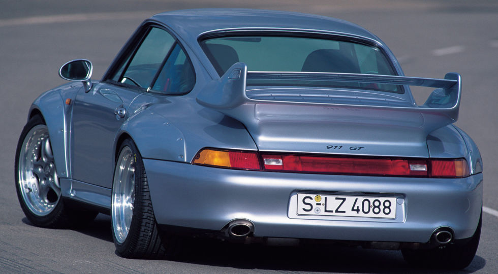 2. Porsche 911 GT2, 1995 года.