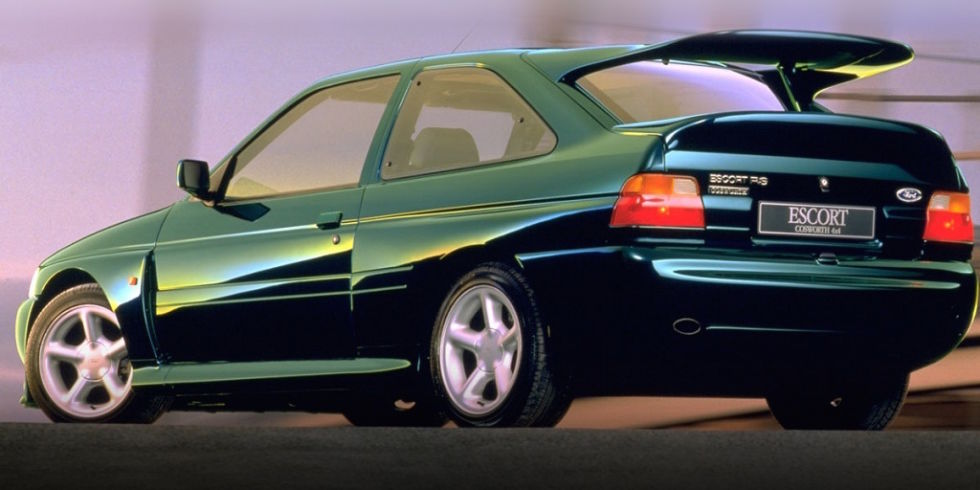 4. Ford Escort Cosworth, 1992 года.