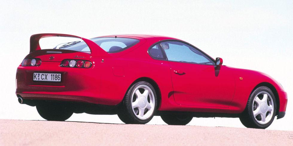 5. Toyota Supra, 1993 года.