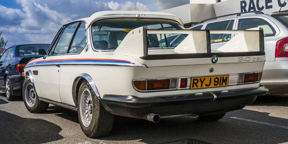 9. BMW 3.0 CSL, 1972 года.