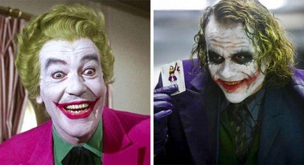 13. Джокер 1966 и 2008.