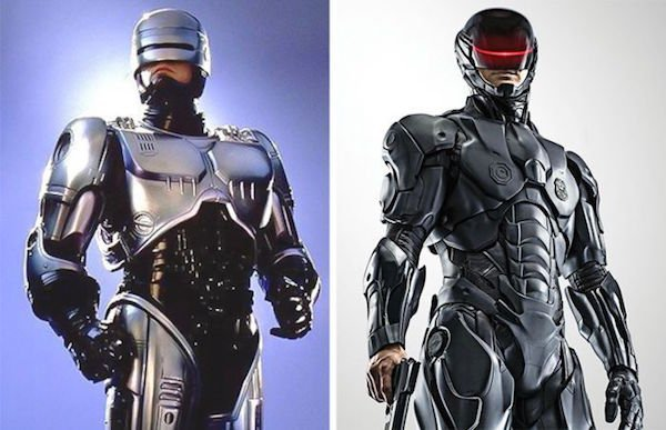 14. Робокоп 1987 и 2014.