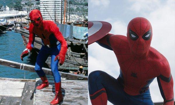 3. Человек-паук 1977 и 2016.