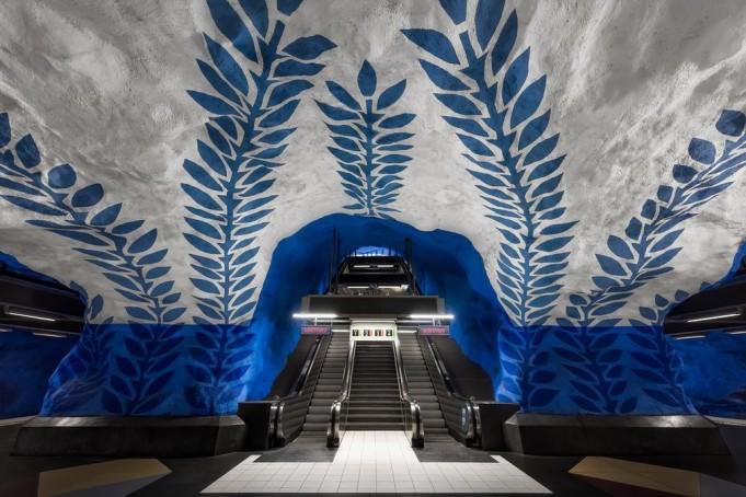Удивительное шведское метро