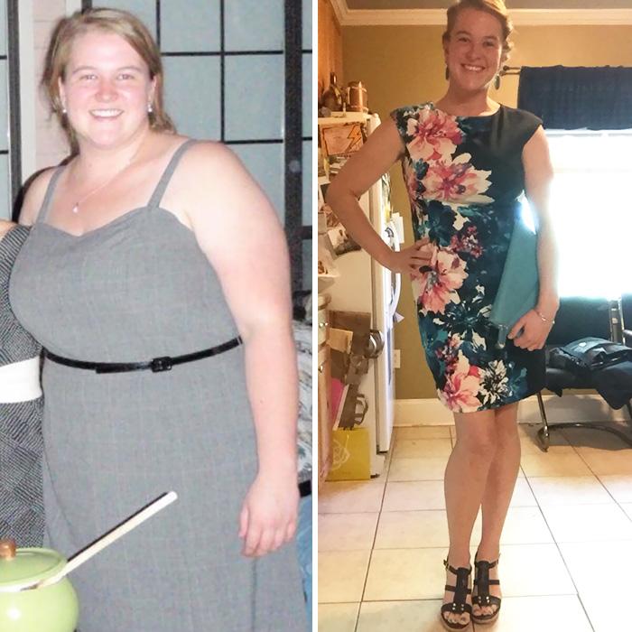 16. Разница между 136-ю и 75-ю килограммами заметна с первого взгляда.