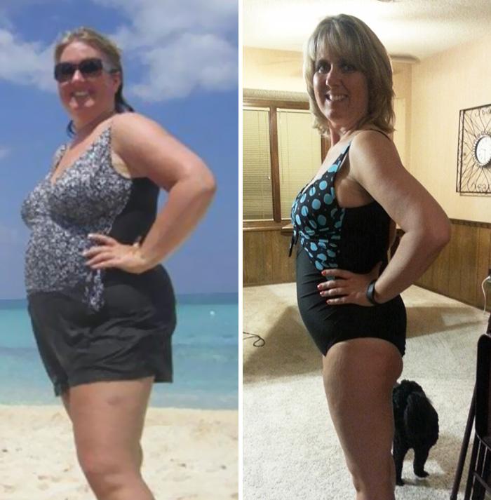 25. В борьбе с лишним весом возраст не помеха. Как видно, 8 месяцев работы над собой не прошли напрасно.