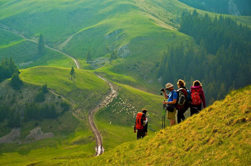 1. Холмы Трансильвании.