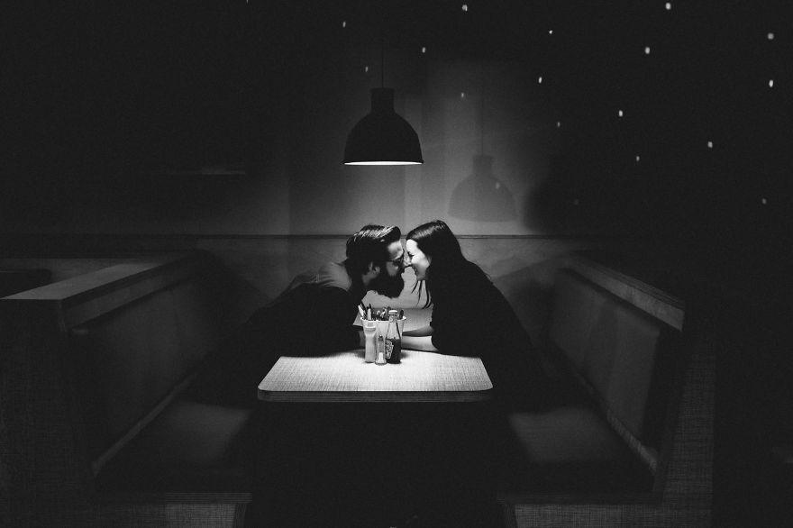23. Романтическое свидание. Фотография – Матильда Делвес.