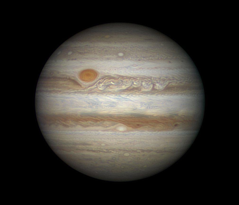 11.  Дэмиан Пич (Великобритания) - Король Планет. На фото – Юпитер, крупнейшая планета в нашей солнечной системе.